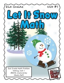 Let It Snow - Math Problem Solving – 2nd Grade (Winter, Ch