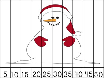 Let It Snow! Number Puzzles