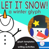 Snowman Glyph and Writing Activities