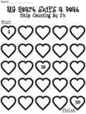 Let Me Count the Ways I Love You {Skip Couting by 2's, 5's, 10's}