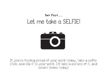 Let Me Take a Selfie Sign