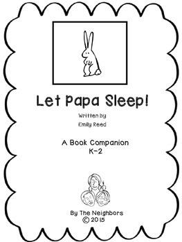 Let Papa Sleep! Book Companion