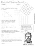 Let Pythagoras show you how Pythagorean Theorem was discovered!