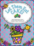 Let Them Eat Cake!  Phonics Centers for -ck & -ke