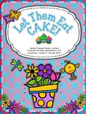 Let Them Eat Cake!  Phonics Centers for -ck & -ke