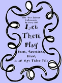 Let Them Play: Poem, Questions, Draw, and an mp4 Video File