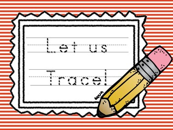 Let Us Trace (tracing doted letters)