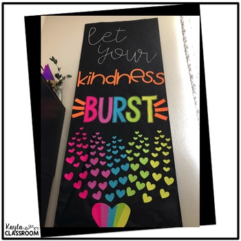 Let Your Kindness Burst Decor Set
