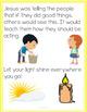 Let Your Light Shine: A Bible Lesson