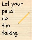 Let Your Pencil