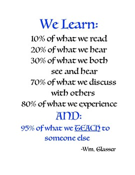 Let Your Students Teach...! (a little...)