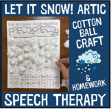 Let it Snow! Articulation and Language : A Speech Therapy