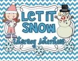 Let it SNOW!  18 Winter Literacy Activities