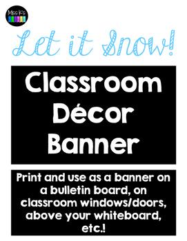 Let it Snow! Banner