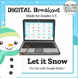 Digital Breakout Escape Room (Google Slides) - Winter (3-5)