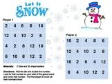 Let it Snow Math Addition Doubles