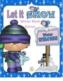 Let it Snow: Math Games
