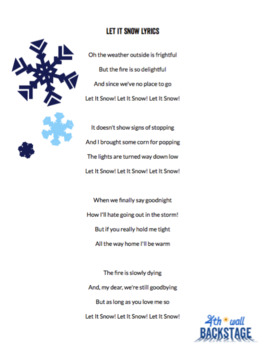 Let it Snow - Vocal Track