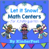 Let it Snow! Winter Math Centers for Kindergarten