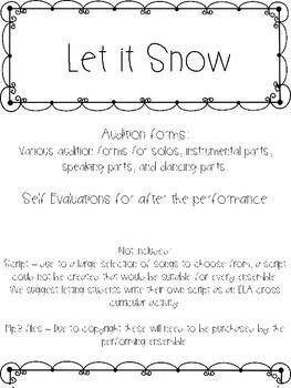 Let it Snow Winter Music Program