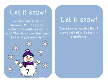 Let it snow counting