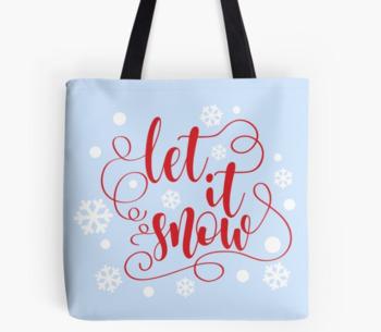 Let it snow svg - Christmas saying SVG - Winter SVG, Christmas SVG