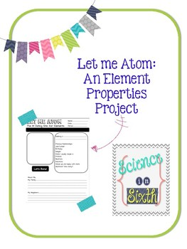 Let me Atom--An Element Research Project