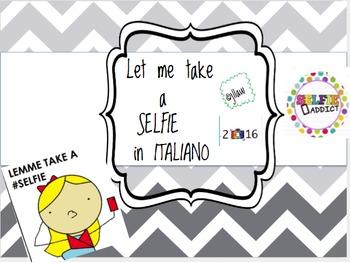 Let me take a selfie: Italian