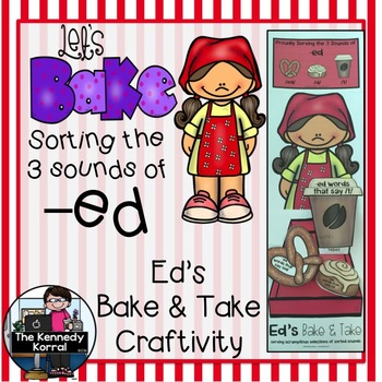 Sorting the Three Sounds of -ed & Ed's Creativity