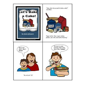 Let's Bake a Cake:  A READ TO LEARN Book About Nouns
