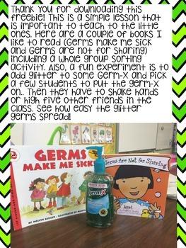Let's Be Germ-free {Freebie}
