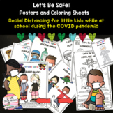 NEW! Social Distancing - Posters and Coloring Pages - Let'