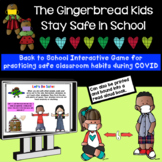 NEW! Social Distancing The Gingerbread Kids Are Safe at School