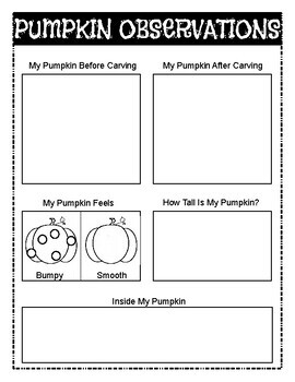 Let's Be Scientists: Pumpkins
