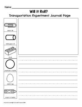 Let's Be Scientists: Transportation Science Experiments