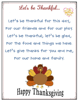 Let's Be Thankful