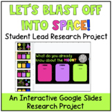 Let's Blast Off into Space! A KWL Student Lead Research Project {Digital!}