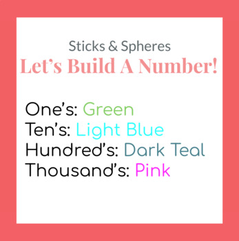 Let's Build A Number! STEAM Lesson Plan