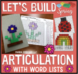 Let's Build Articulation (with word lists): A Spring themed toy companion