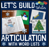 Let's Build Articulation (with word lists): A Winter themed toy companion