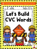 Let's Build CVC Words  {Ladybug Learning Projects}