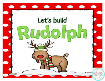 Let's Build Rudolph - Teen Numbers!