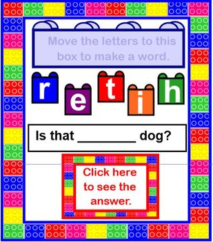 Let's Build Sight Words