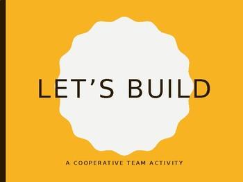 Team Challenge:  Let's Build