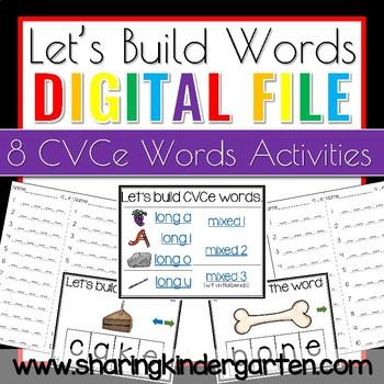 Let's Build Words: CVCe
