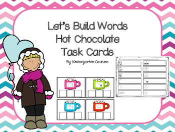 Let's Build CVC Words (Hot Chocolate)