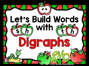 Let's Build Words with Digraphs: sh , th - Interactive PowerPoint