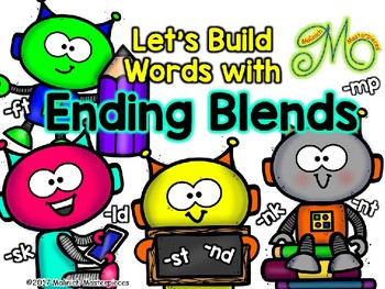 Let's Build Words with Ending Blends: -ft, -sk, -st, -nd, -nk, -nt, -mp