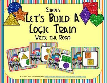 Let's Build a Logic Train / Flow Chart (Shapes Edition)