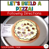Let's Build a Pizza: Sequencing Vocational Tasks